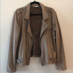 Market & Spruce Kendari Faux Suede Jacket